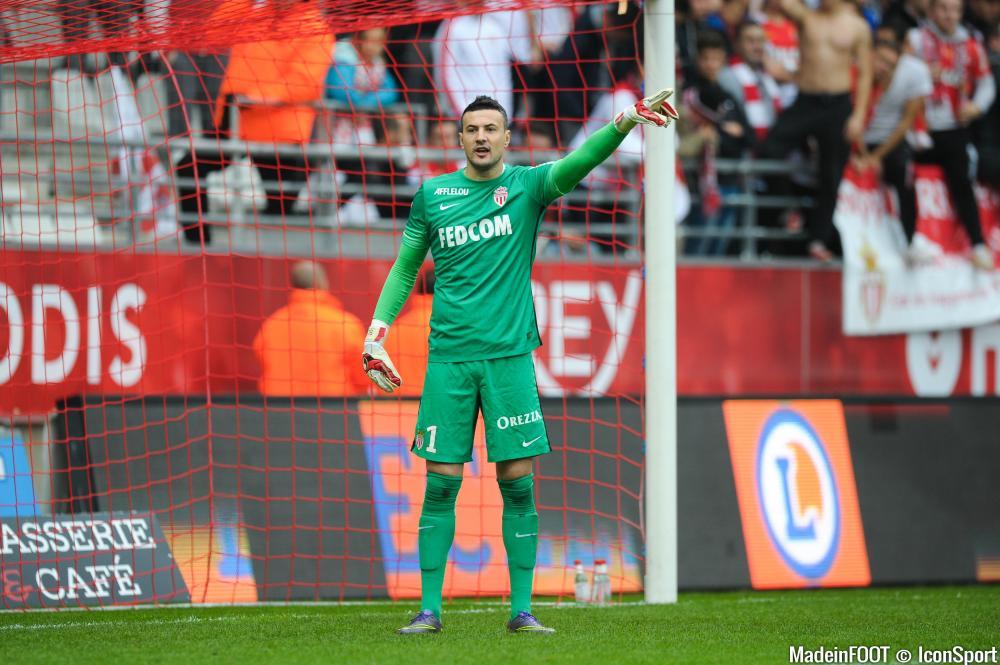 Danijel Subasic (AS Monaco), malade, est forfait pour les 32èmes de finale de la Coupe de France.