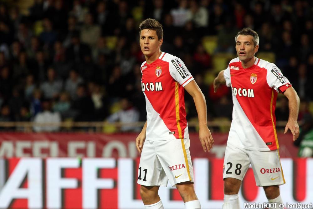 Le groupe de l'AS Monaco pour affronter l'OL.
