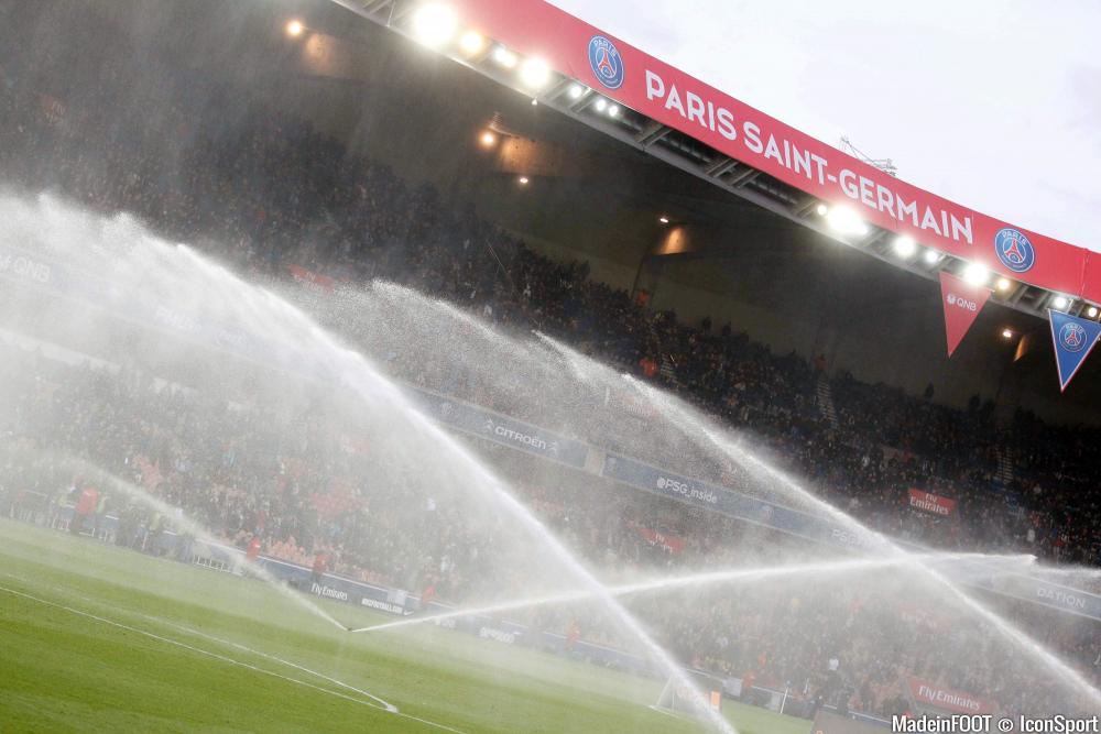 Le Parc des Princes est en tête du classement des meilleures surfaces de Ligue 1 après la 8ème journée de championnat.