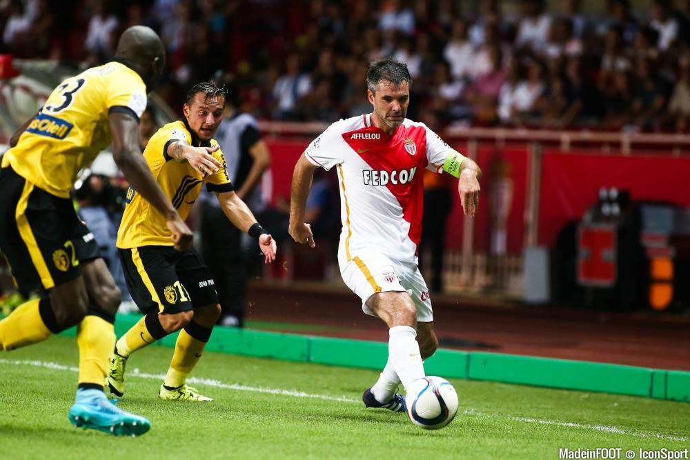 Jérémy Toulalan (AS Monaco) est incertain pour le déplacement à Lyon, samedi soir.