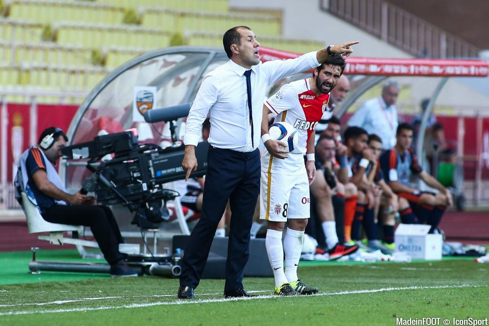 Le groupe de l'AS Monaco pour la réception du SC Bastia.