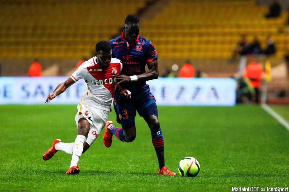 Thomas Lemar (AS Monaco) a repris les séances individualisés ce lundi.