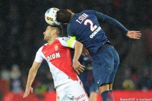 Falcao (ASM) et Silva (PSG)