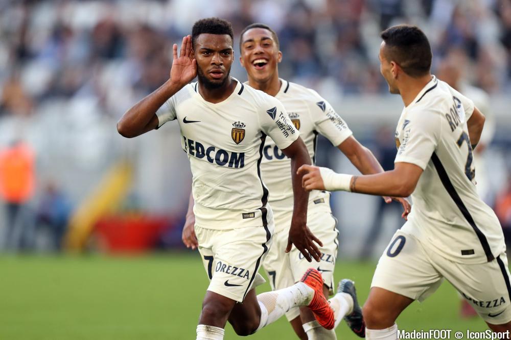 Lemar auteur d'un but face à Bordeaux samedi face à Bordeaux (0-2)