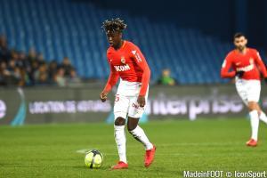 Kévin N'Doram est lié à l'AS Monaco jusqu'en 2023.