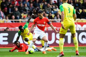 Radamel Falcao (AS Monaco) ratera le déplacement à Caen, dimanche après-midi.