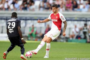 Pellegri n'a pas beaucoup de temps de jeu à Monaco