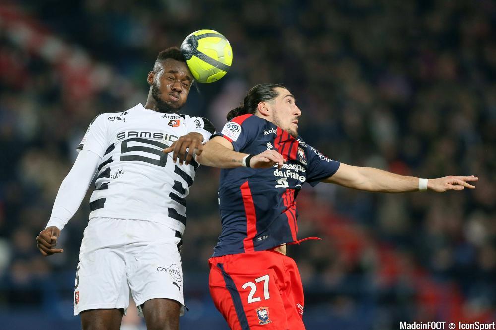 Crivelli fait l'effort de jouer blesser pour aider le SM Caen