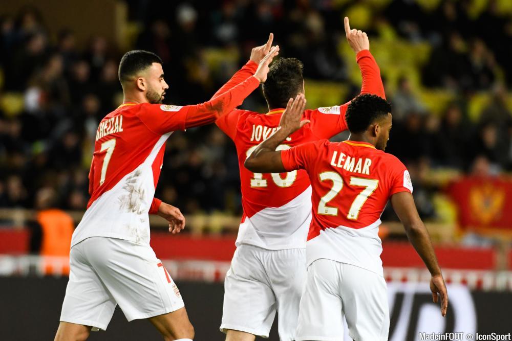 Monaco s'impose contre Bordeaux