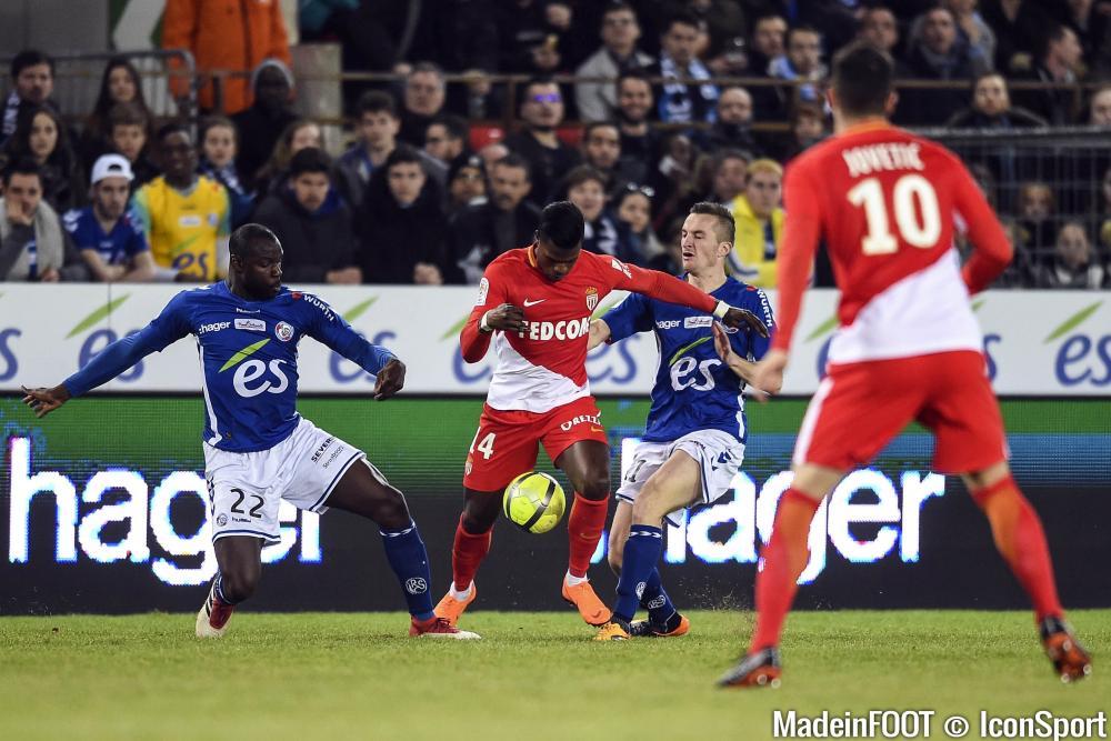 Keita Baldé, ici sous les couleurs de l'AS Monaco.