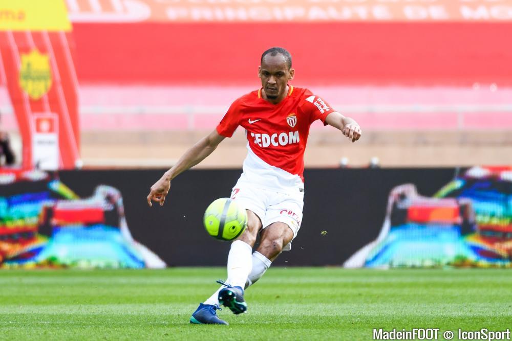 Fabinho sous le maillot de l'AS Monaco