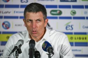 Laurey s'est dit soulagé par la réaction de ses joueurs après la rencontre.