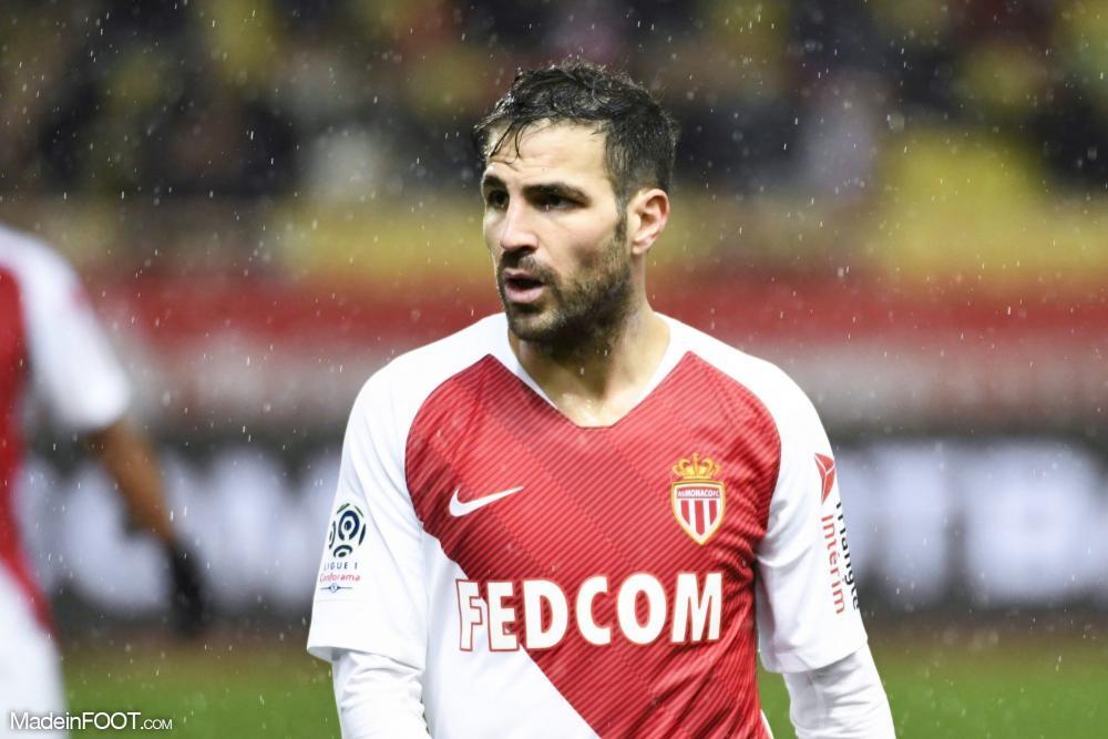Cesc Fàbregas, milieu de terrain de l'AS Monaco