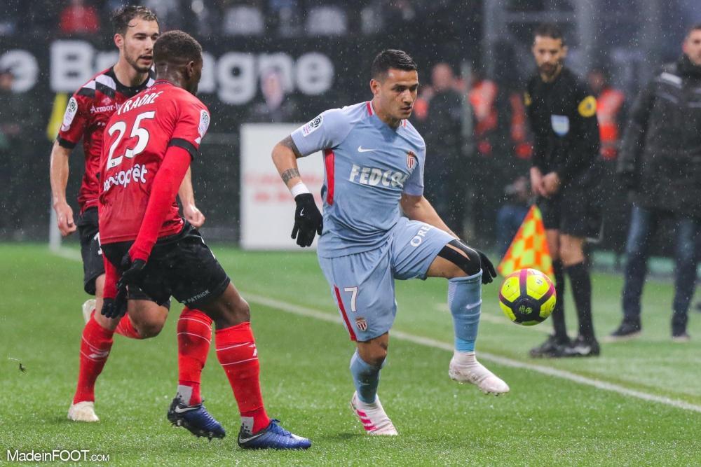 Rony Lopes, l'ailier ou attaquant de l'AS Monaco.