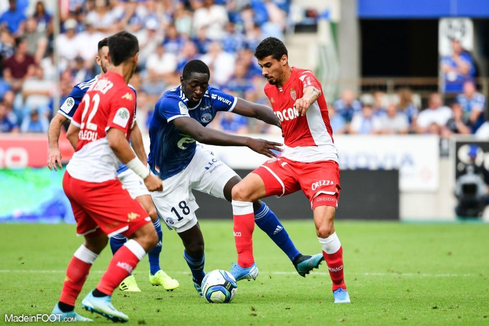 Le RC Strasbourg Alsace et l'AS Monaco se sont quittés sur un match nul (2-2), ce dimanche après-midi en Ligue 1.