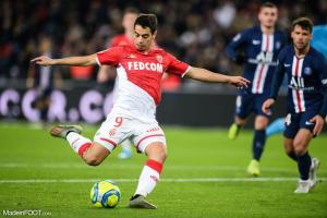Wissam Ben Yedder, l'attaquant de l'AS Monaco.