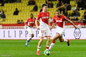 Golovin cette saison avec l'AS Monaco.