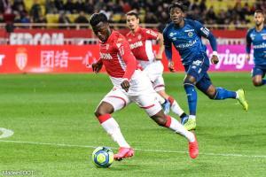 Keita Baldé est sous contrat avec l'ASM jusqu'en 2022.