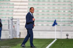 Michel Der Zakarian, entraineur de Montpellier
