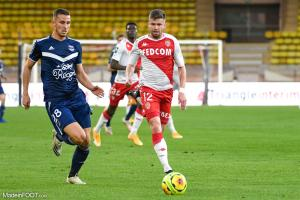 Les compos officielles du match entre les Girondins de Bordeaux et l'AS Monaco.