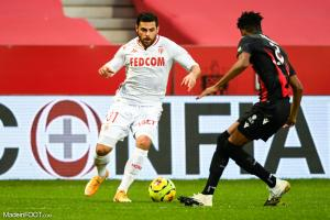 Kevin Volland, attaquant de l'AS Monaco