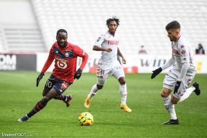 L'album photo du match entre le Lille OSC et l'AS Monaco.
