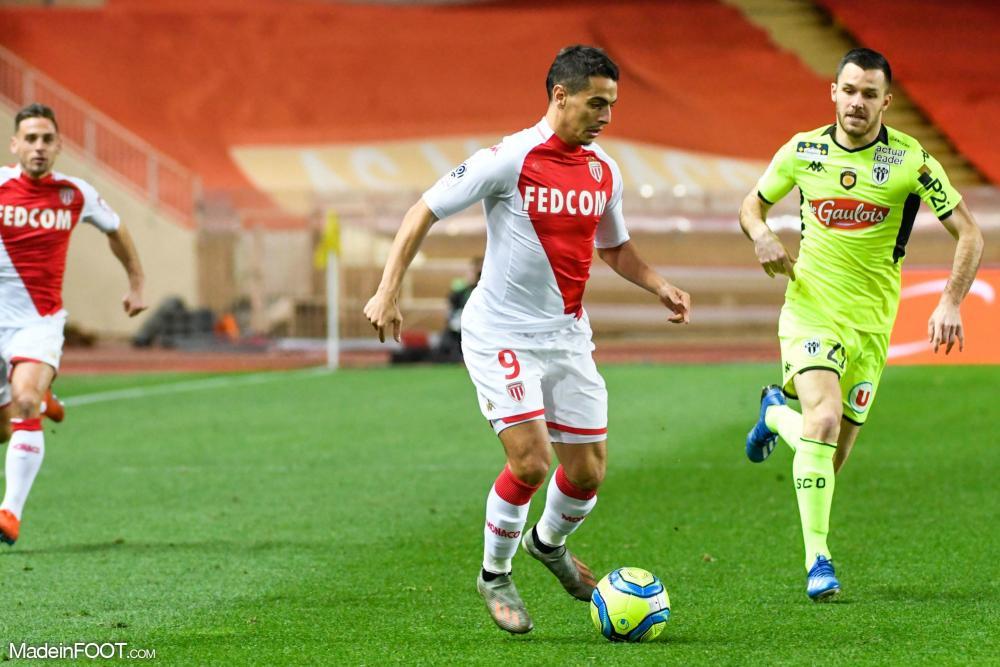 L'AS Monaco s'est imposée face au SCO Angers (1-0), ce mardi soir en Ligue 1.