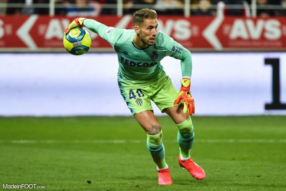 Benjamin Lecomte, le gardien de but de l'AS Monaco.