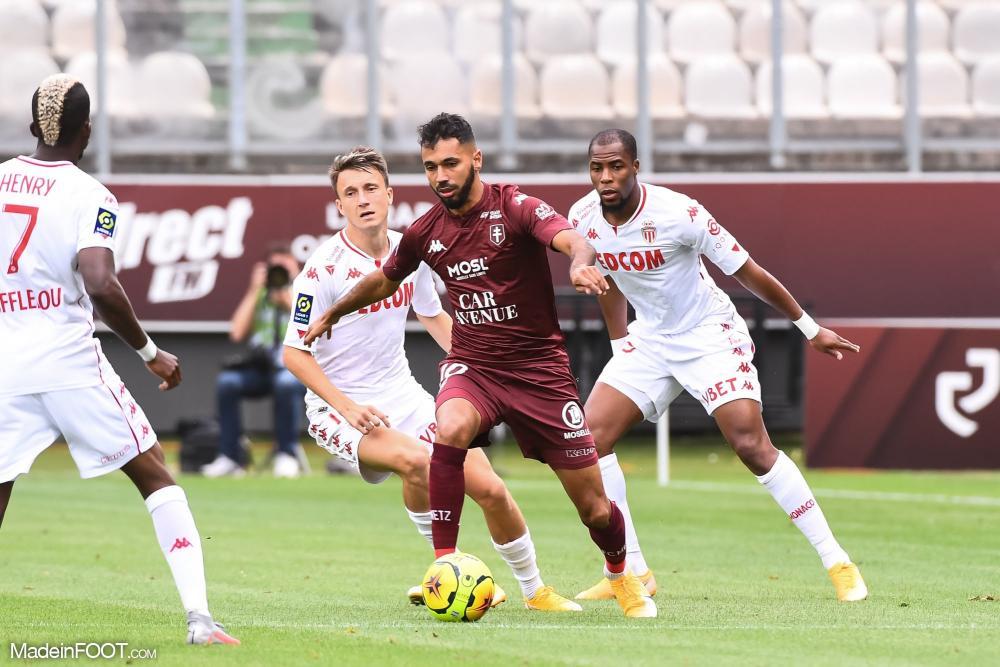 Djibril Sidibé, le défenseur latéral de l'AS Monaco.