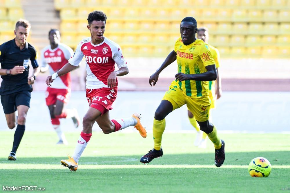 Sofiane Diop lors d'un match de L1 avec l'ASM