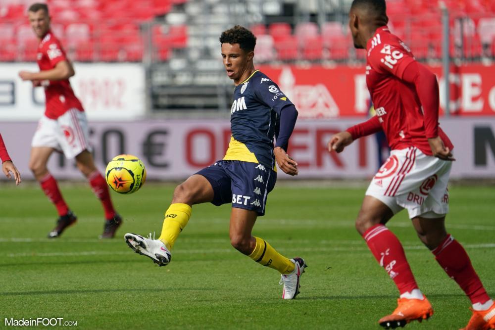 Monaco a été impuissant face à Brest