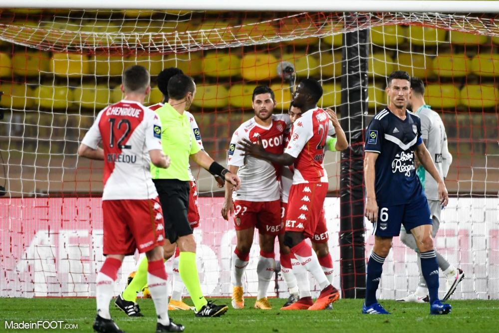 L'AS Monaco s'est facilement imposée face aux Girondins de Bordeaux (4-0), ce dimanche après-midi en Ligue 1.