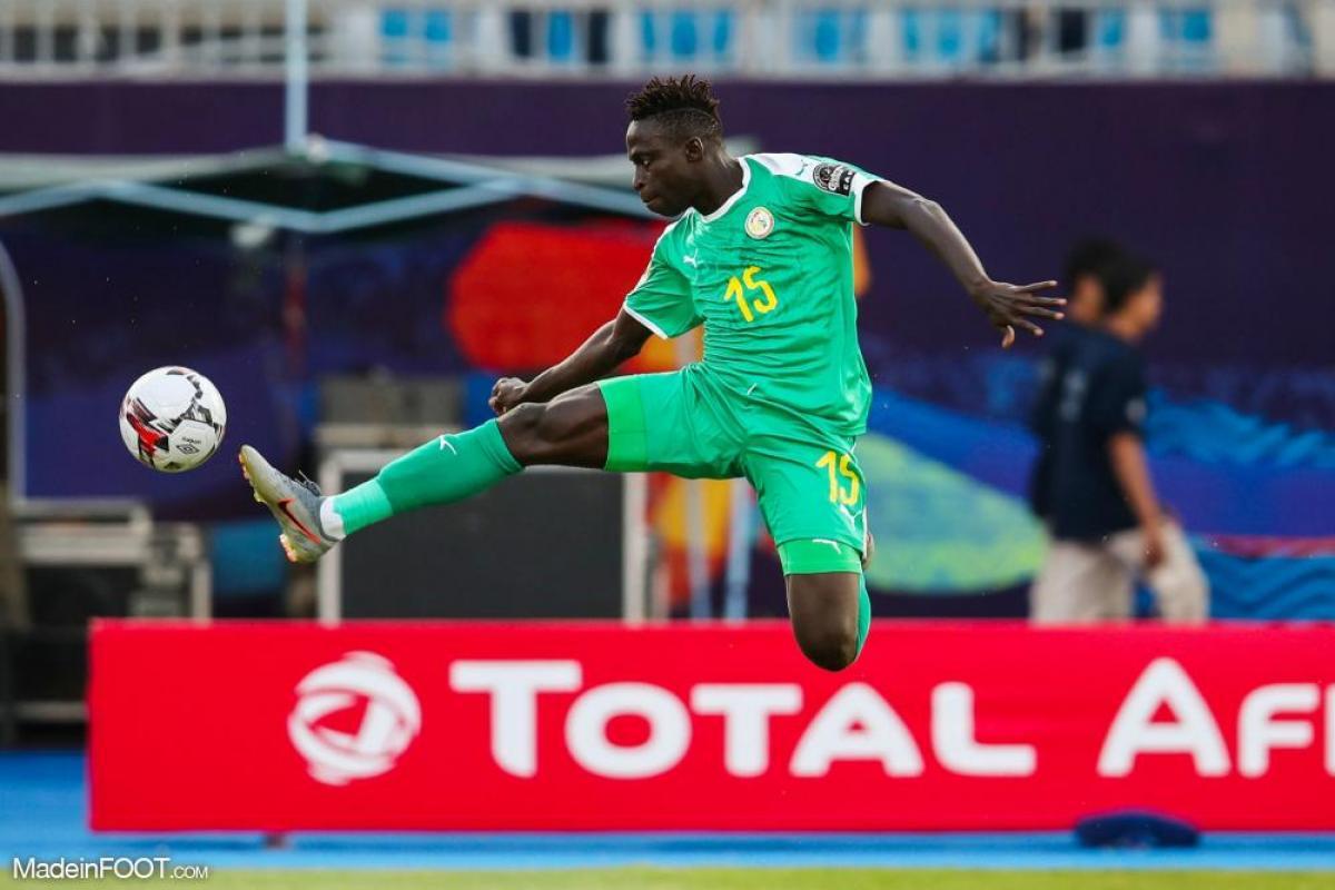 Krépin Diatta, l'ailier de l'AS Monaco, a marqué pour le Sénégal dans la victoire face à la Zambie (3-1).