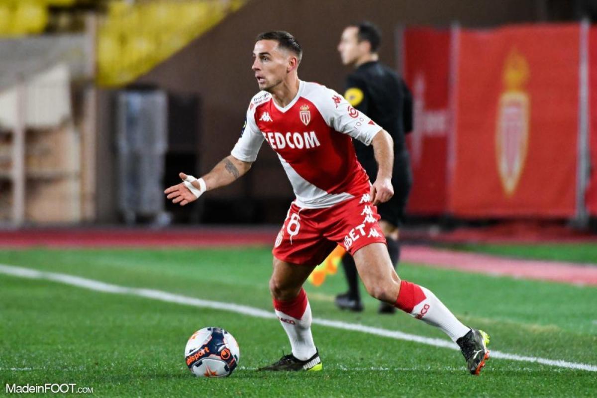 Ruben Aguilar, latéral droit de l'AS Monaco