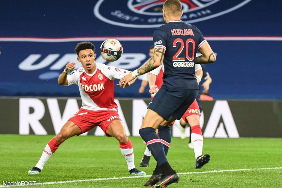 Sofiane Diop, le milieu de terrain offensif de l'AS Monaco.