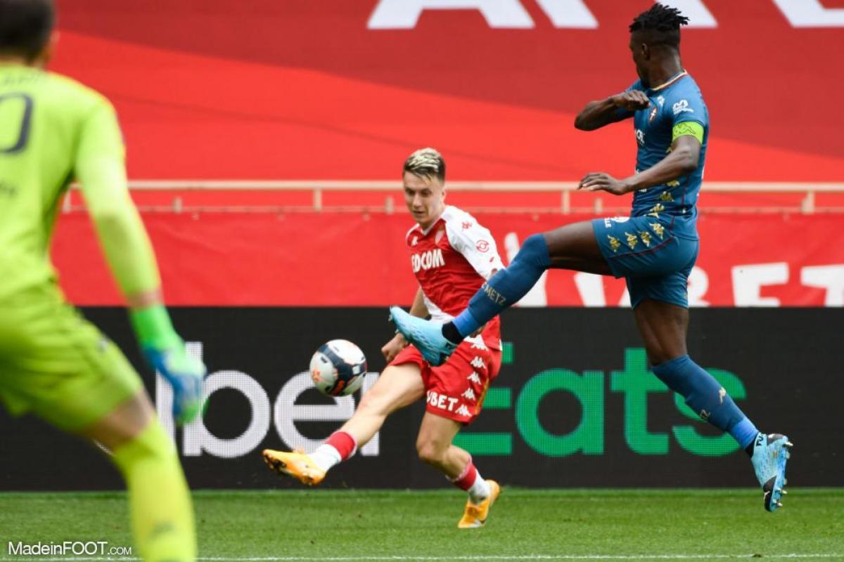 Aleksandr Golovin, le milieu de terrain offensif de l'AS Monaco.