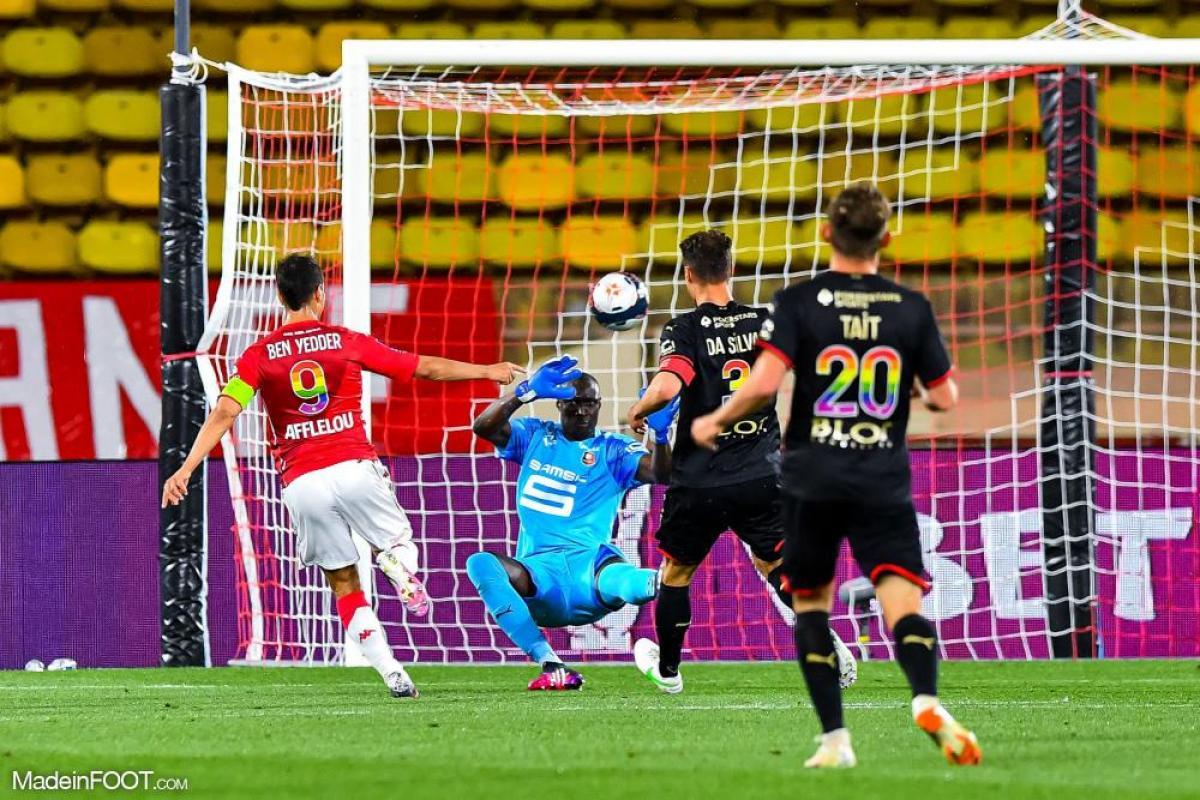 L'album photo du match entre l'AS Monaco et le Stade Rennais FC.