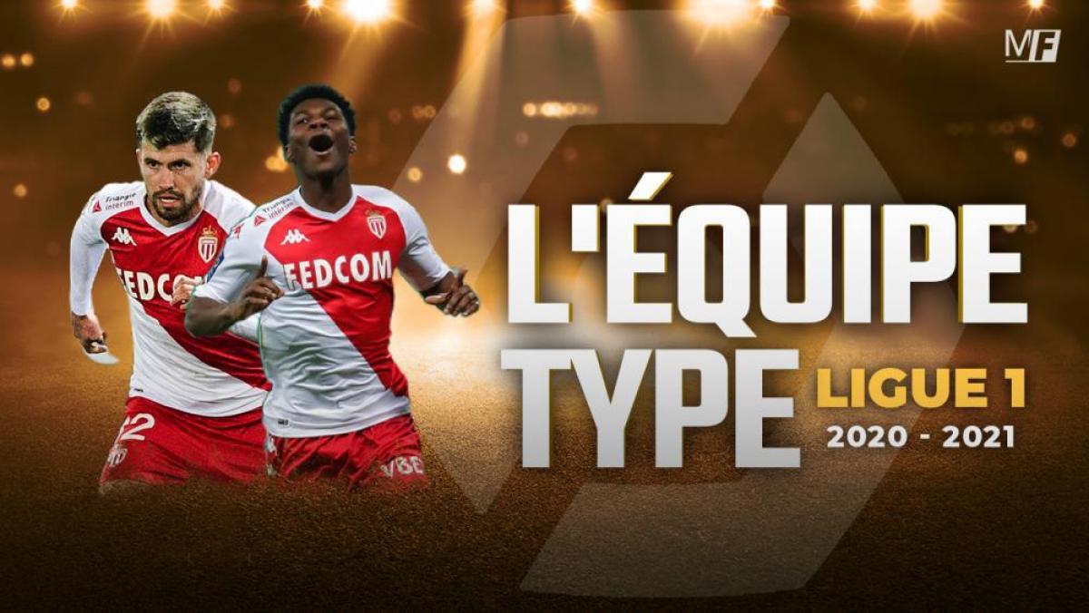 L'équipe-type de la saison 2020-2021 en Ligue 1 est tombée
