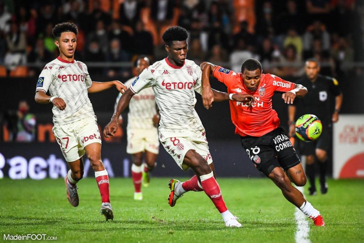 Armand Lauriente, ailier du FC Lorient