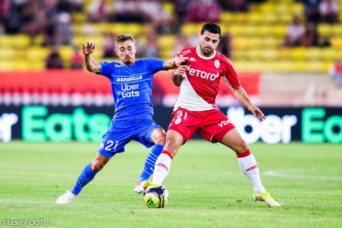 L'OM bat l'AS Monaco dans le choc de la 5e journée de Ligue 1