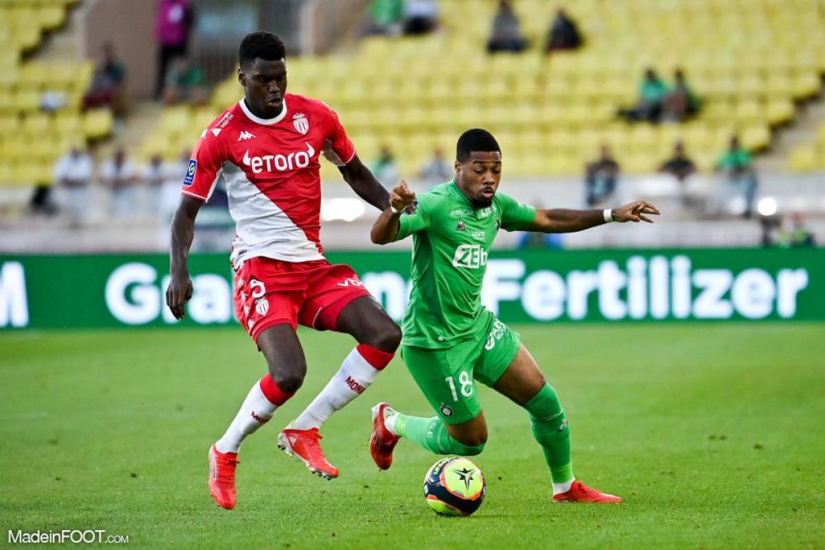 L'album photo du match entre l'AS Monaco et l'AS Saint-Etienne.