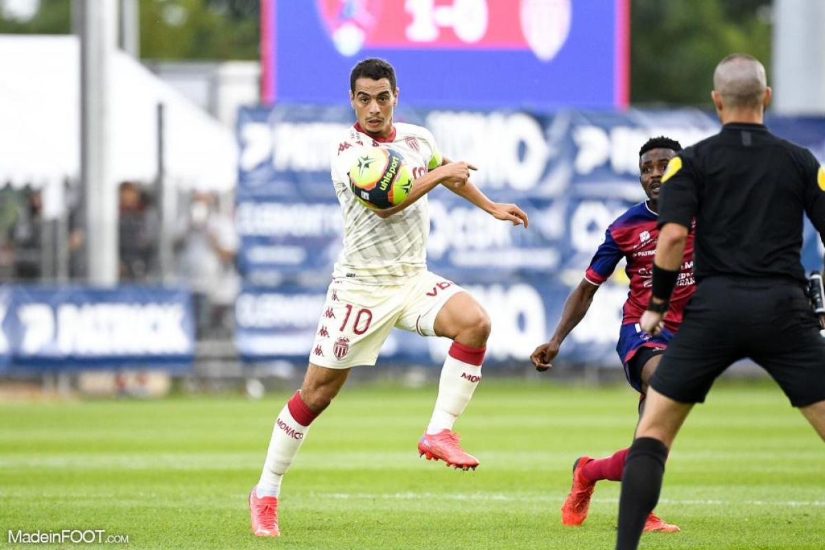 Le groupe de l'AS Monaco pour la réception de Bordeaux