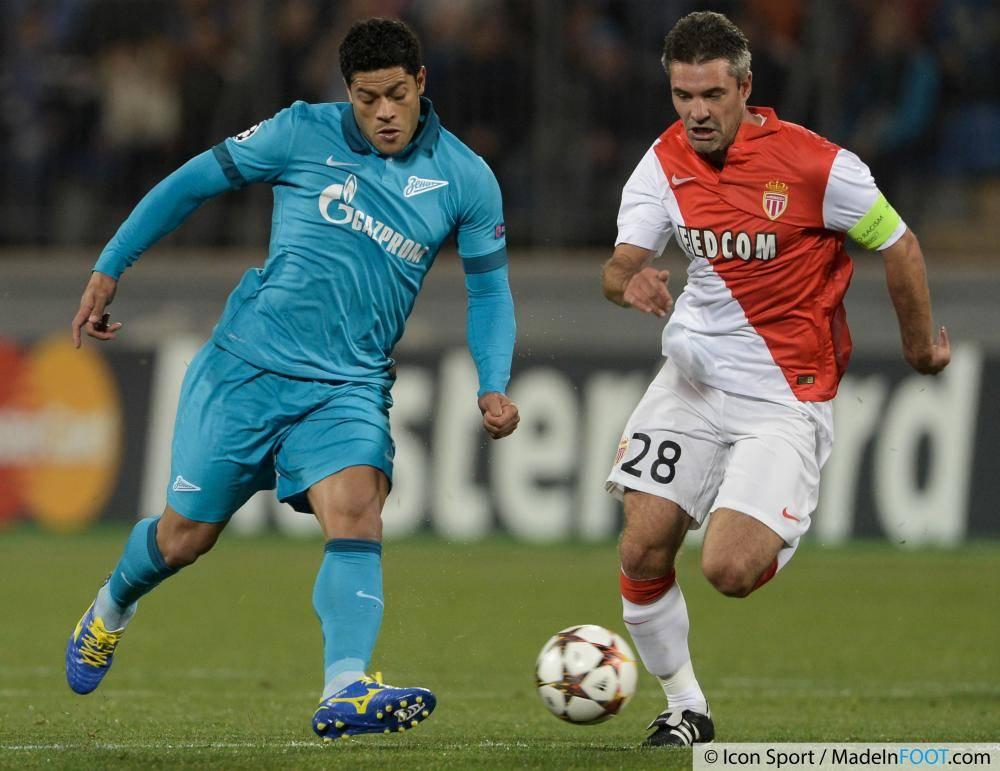 Les notes de la rencontre entre le Zénith Saint-Pétersbourg et l'AS Monaco