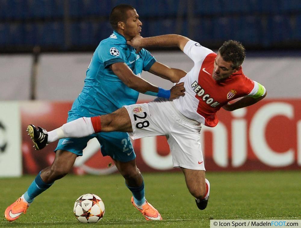 L'AS Monaco s'est rassuré en prenant un bon point contre le Zénith Saint-Pétersbourg