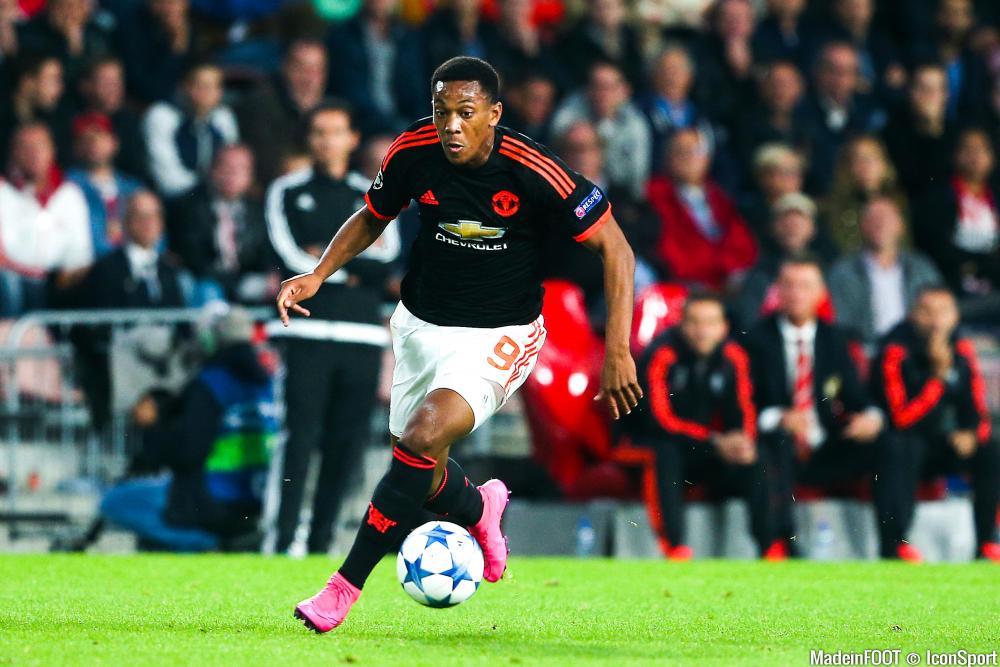 Martial vit un rêve à Manchester.