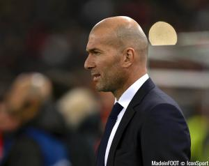 Zinédine Zidane, le coach madrilène