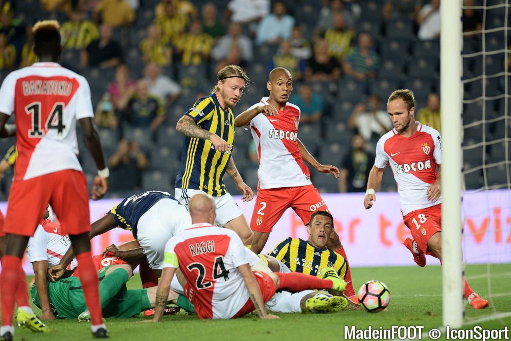 Les compos probables du match entre l'AS Monaco et Fenerbahçe.