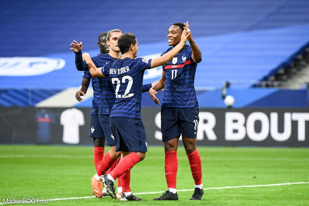 Wissam Ben Yedder, l'attaquant de l'AS Monaco et de l'équipe de France.