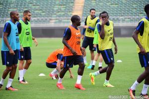 Sidibé s'intègre bien dans le XI Français