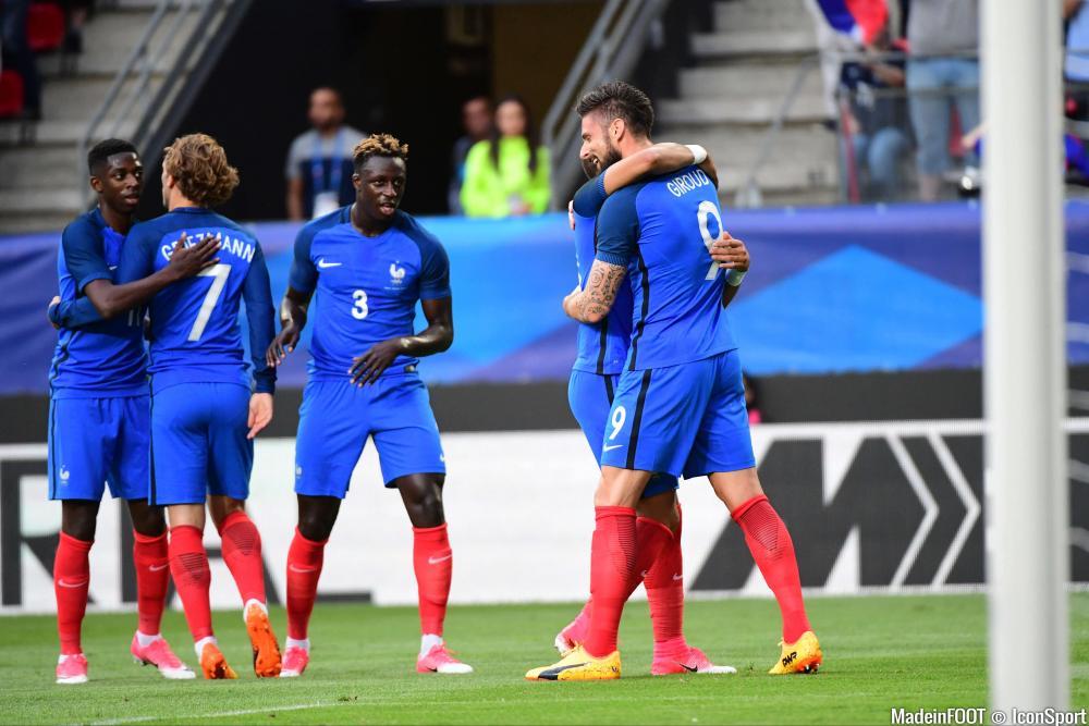 Mendy a été l'un des artisans de la victoire française contre le Paraguay